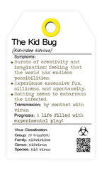 The Kid Bug - creative virus. I bug you. collectables.