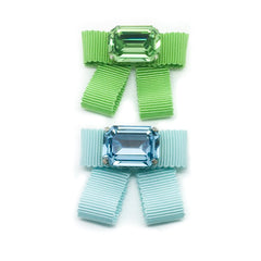 Grosgrain Bow Brooches