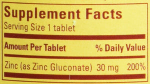Nature Made Zinc Tablets