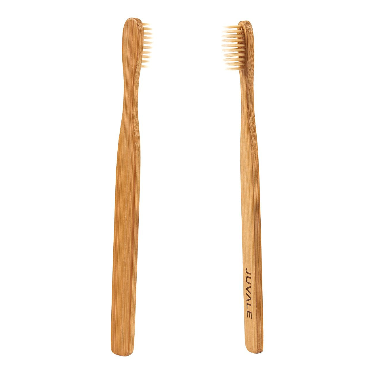 Natural Bamboo Toothbrushes - Durable and Eco-Friendly Wooden Handles with BPA-Free Nylon Bristles for Natural Dental Care