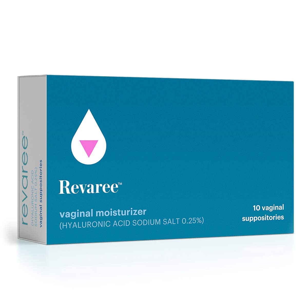 Bonafide - Revaree Hyaluronic Acid for Vaginal Dryness - Non-Hormonal, Paraben-Free (10 Vaginal Inserts)
