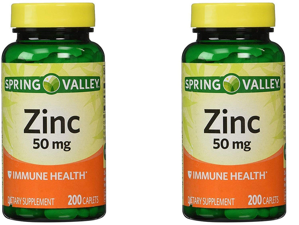 Spring Valley Zinc Tablets
