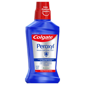 Colgate Peroxyl Mouth Sore Rinse, Mild Mint