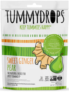 Non-GMO Verified Sweet Ginger Pear Tummydrops