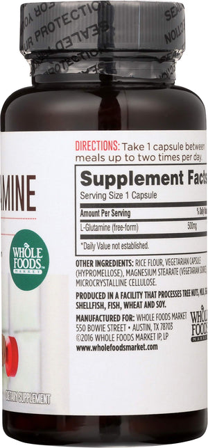 L-Glutamine by Whole Foods Market