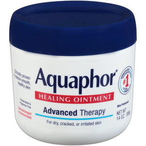 Aquaphor Healing Ointment - Moisturizing Skin Protectant for Dry Cracked Hands, Heels and Elbows