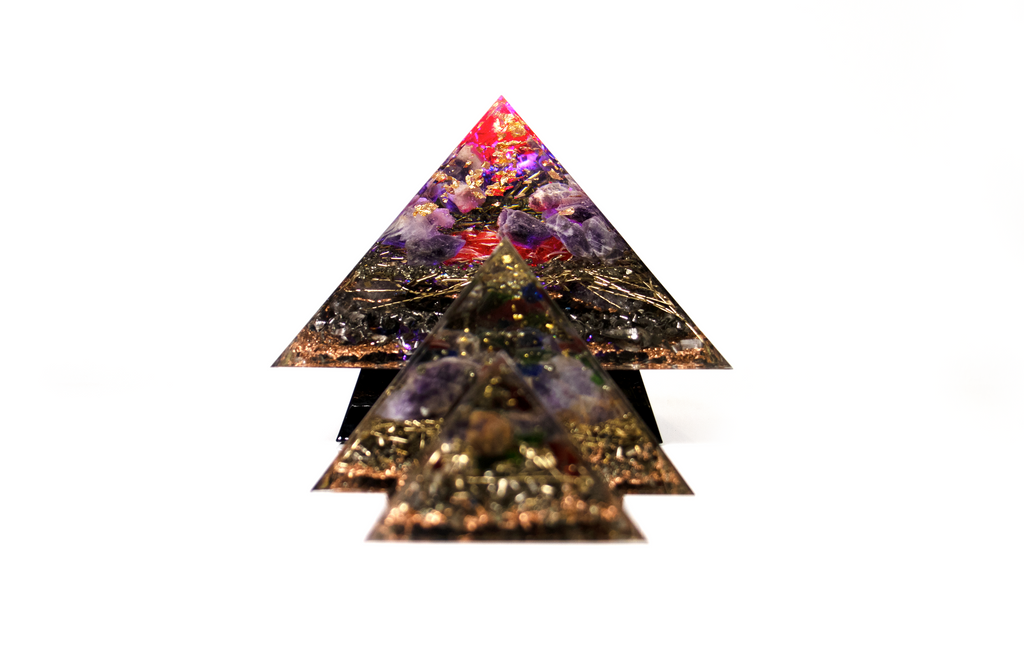 Cheops ORGONITPYRAMIDE SET Limitierte Weihnachtsedition 2020