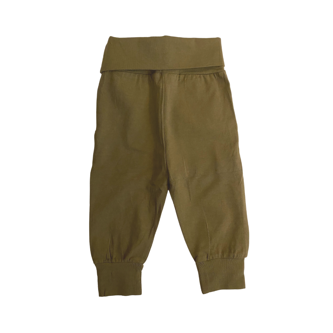 Emory Joggers in army green