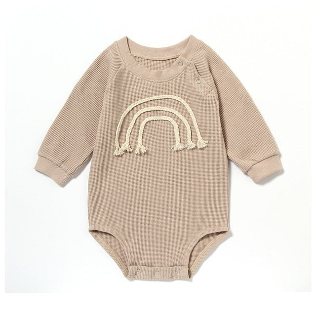 Theo Romper in tan