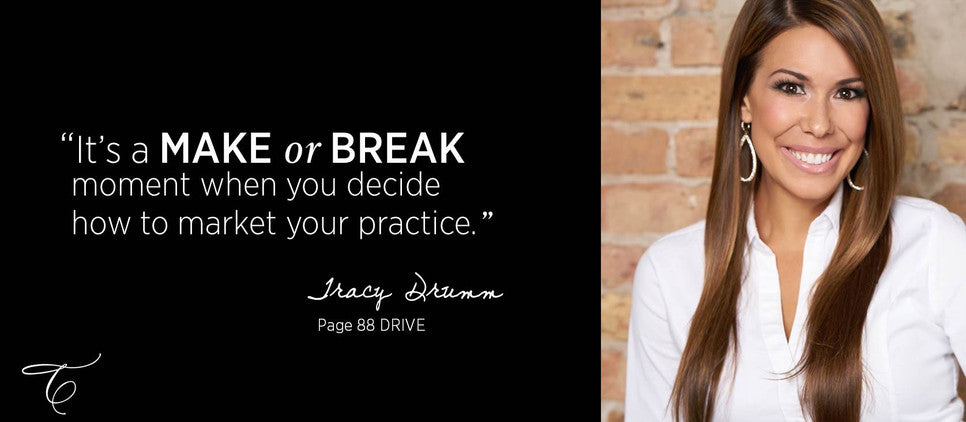 Tracy Drumm Weldon is the author of DRIVE, a medical marketing text book created for aesthetic practices. The book features hundreds of proven marketing strategies and models to grow your cosmetic business.
