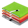 felt case for iPad made of colorful felt