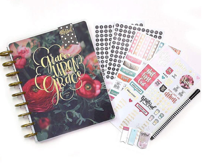 Faith Planning & Bible Journaling with The Happy Planner