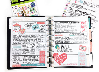 Faith Frankenplanner | Combining Your Happy Planners® For The Perfect Planning Solution