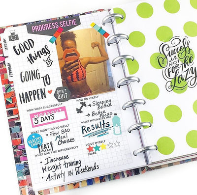 Plan a Fit Life in the MINI Fitness Happy Planner®