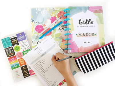 The Happy Planner™ Student Edition Set Up | Plan With Your Daughter