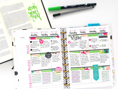 A Full & Loved Faith Planner™ | Faith Planner Inspiration