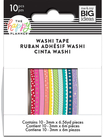 THE HAPPY PLANNER® WASHI TAPE