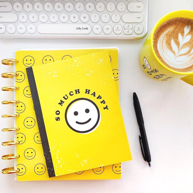 Deluxe Classic Student Planner - Smiley Face - 12 Months (2019-2020)