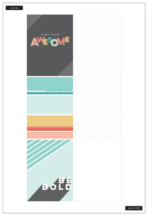 3 Pack Journals - Make Today Awesome