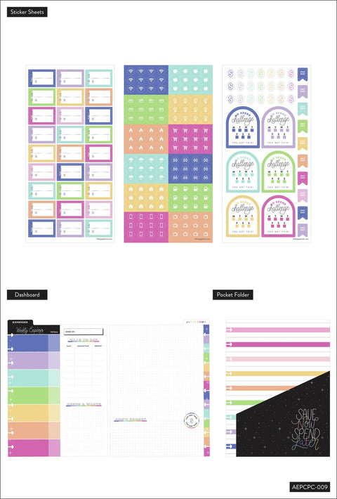 Monthly Budget and Saving Tracker Classic Planner Companion