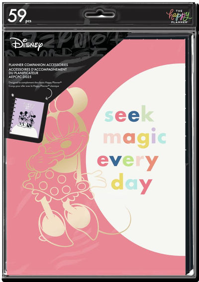 Disney © Minnie Mouse Magic Colorblock Classic Planner Companion