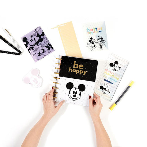 Disney © Mickey Mouse & Minnie Mouse Joy Colorblock Classic Planner Companion