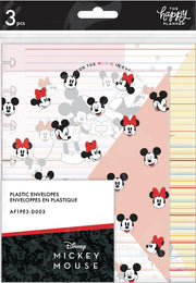Mickey and Minnie Snap In Envelopes - Everyday Magic