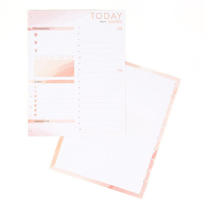 Daily Schedule and Gratitude Big Faith Filler Paper
