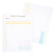 Daily Checklist and Priorities Big FIller Paper