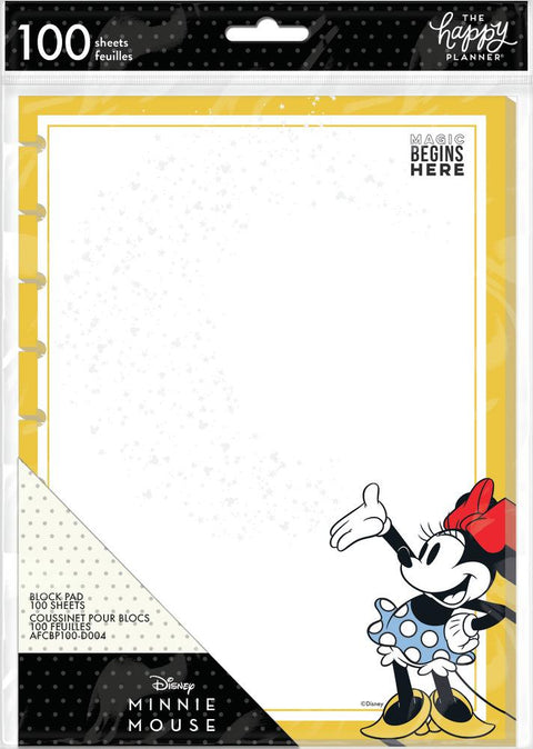 Minnie Mouse Classic Block Pad Paper - Magic Begins