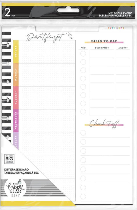 Savvy Saver Classic Wet Erase Dashboard - Budget Tracker