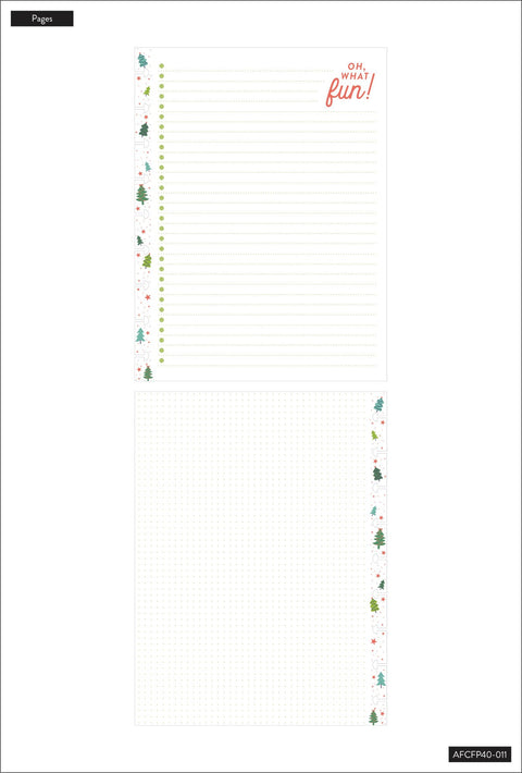 Holiday Cheer Classic Filler Paper