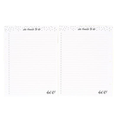 Checklist Classic Lined Classic Filler Paper