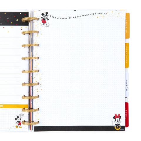 Mickey and Minnie Trail Of Magic Classic Filler Paper