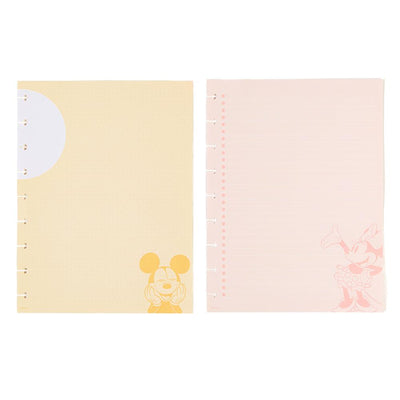 Disney © Mickey Mouse & Minnie Mouse Colorblock Classic Filler Paper
