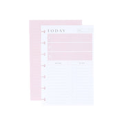 Minimalist Mini Filler Paper - Daily Schedule & To Dos
