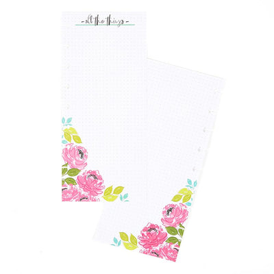 Colorful Florals Skinny Classic Filler Paper