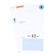Mickey and Minnie Best Day Skinny Classic Filler Paper - Daily To-do's