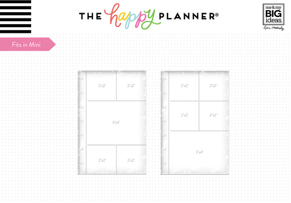 The Happy Planner® Page Protectors - Mini