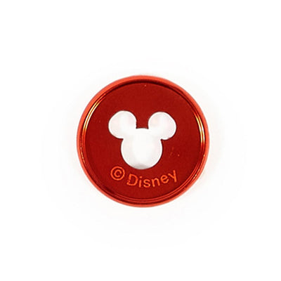 Disney © Mickey Mouse Medium Metal Disc Set – Red