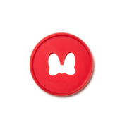 Minnie Mouse Red Bow Medium Plastic Disc Set