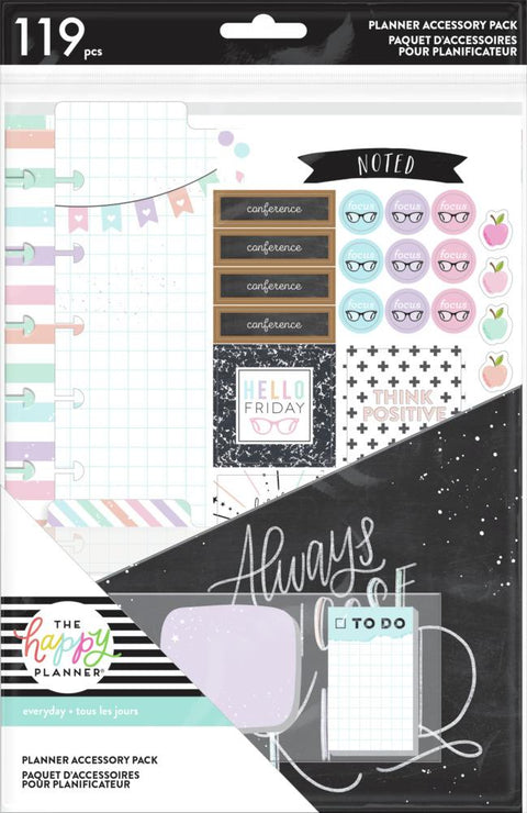 Classic Accessory Pack - Teacher Pastels