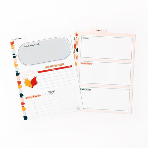 Classic Wet Erase Dashboards - Neutral Vibes