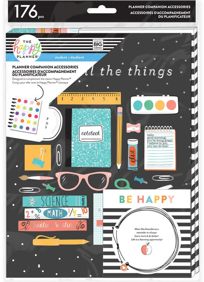 Classic Planner Companion - Student Colorful Essentials