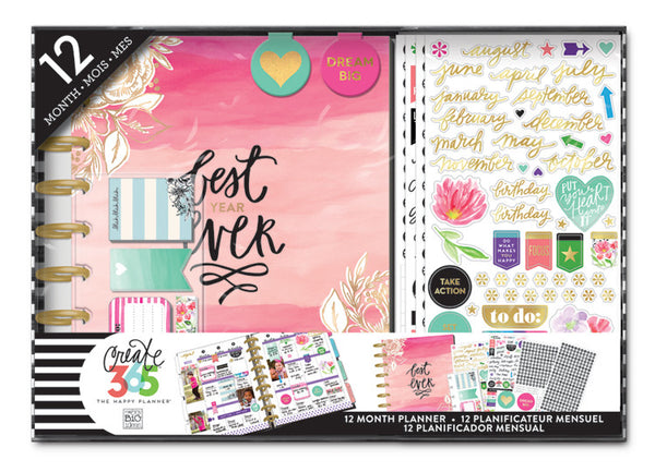 The Happy Planner™ 12 Month Box Kit - Best Year Ever