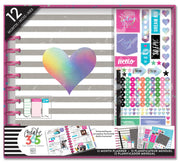 12 Month Box Kit - Rainbow Foil - BIG / HORIZONTAL