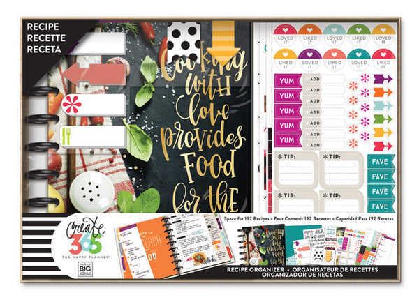 Happy Planner® Box Kit – CLASSIC – Cooking