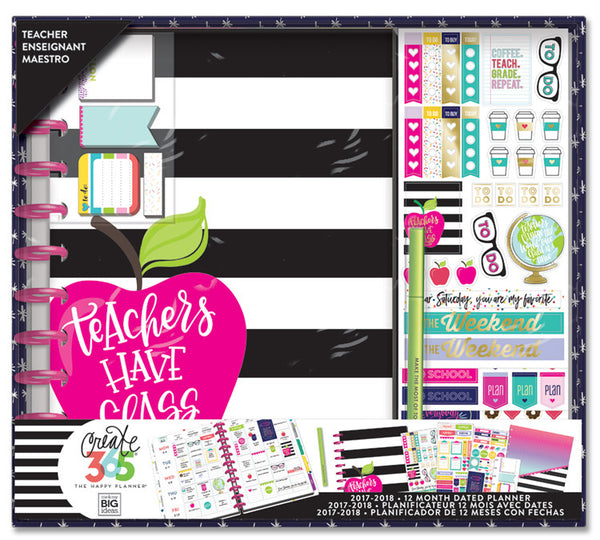 The Happy Planner® Box Kit - BIG Teacher Edition - Teachers Have Class