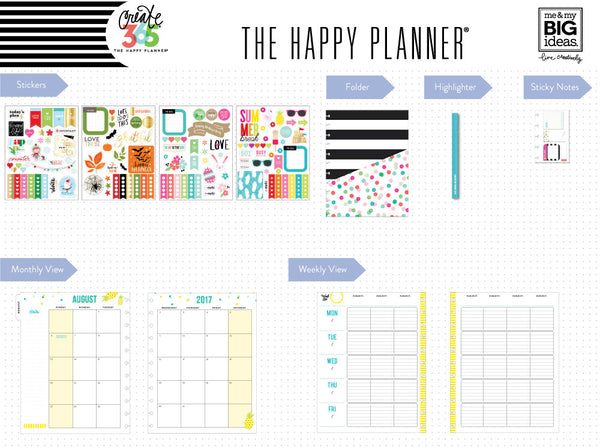 The Happy Planner® Box Kit - BIG Teacher Edition - Seasonal Teacher