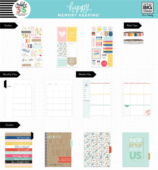 Happy Memory Keeping™ BIG Box Kit - True Story / Kraft